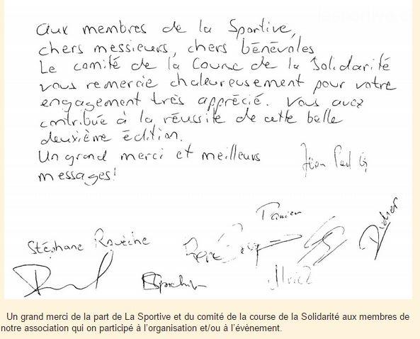 Correspondance | La Sportive
